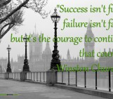 Winston Churchill on Success