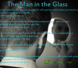 man in the glass