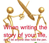 Don't give up the pen!