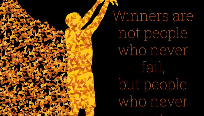 but people who never quit