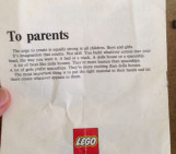 The Lego Letter