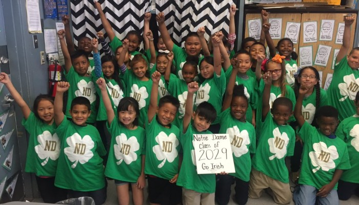 An open letter to Ms. Silva and the Notre Dame Class of 2029